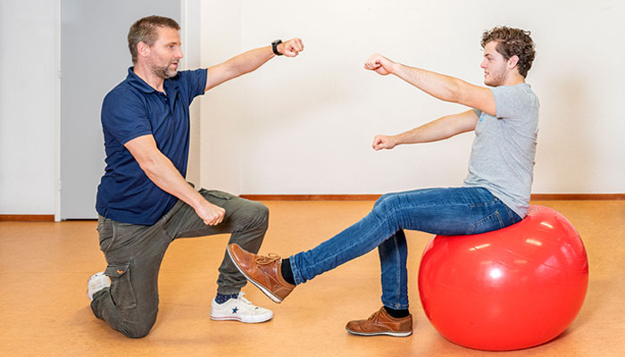 fysiotherapie uden content