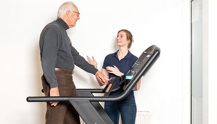 Geriatriefysiotherapie voor ouderen
